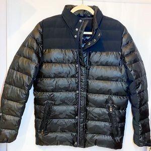 new Alo Yoga black camo puffer jacket